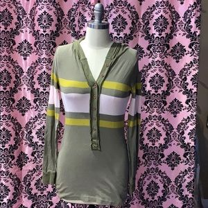 Free People rugby shirt